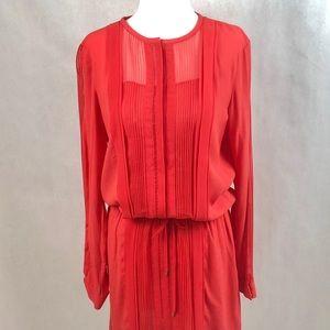Diane von Furstenberg Dark Orange Dress Size 6